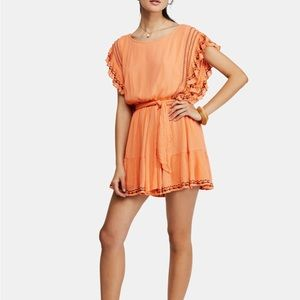 NWT Free People Weekend Brunch Embroidered Mini
